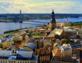 The cities of Latvia where we provide cheap fares are Riga, its airport is Riga International Airport (RIX) and Ventspils, its airport is Ventspils International Airport (VNT).